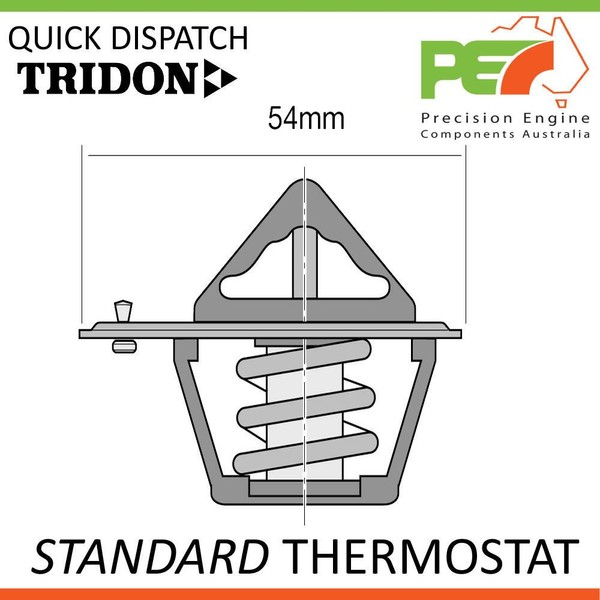 New *TRIDON* Standard Thermostat For Nissan Vanette Largo GC22 Import
