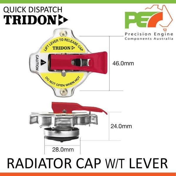 TRIDON RADIATOR CAP W/ LEVER FOR NISSAN NAVARA FGD21 HGD21