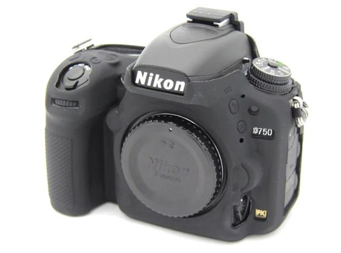 Protective Rubber Silicone sleeve Camera Case Cover skin for Nikon D750