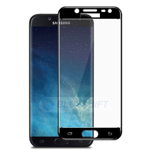 timeless design 6c387 e778a Samsung J7 Pro Glass Screen Protector Full Cover Curved