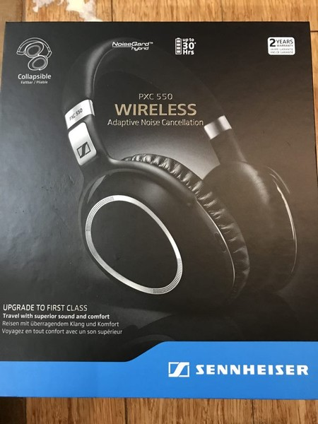 495ee66dfbb Brand new Sennheiser PXC-550 wireless active noise cancelling headphone  RRP$729 | Trade Me