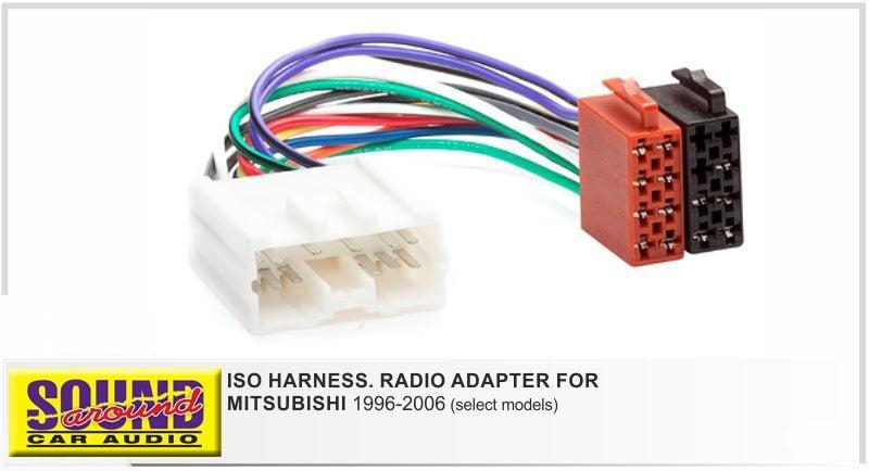 iso wiring loom for mitsubishi 1996 2006 trade me rh trademe co nz Club Car Wiring Harness Mitsubishi Wiring Harness Schematic