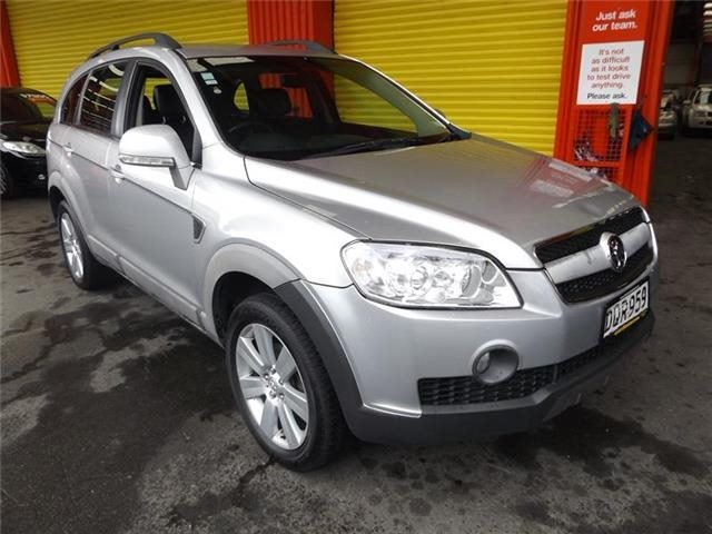 Holden Captiva Lx 32l 7 Seater Leather 2006 Trade Me
