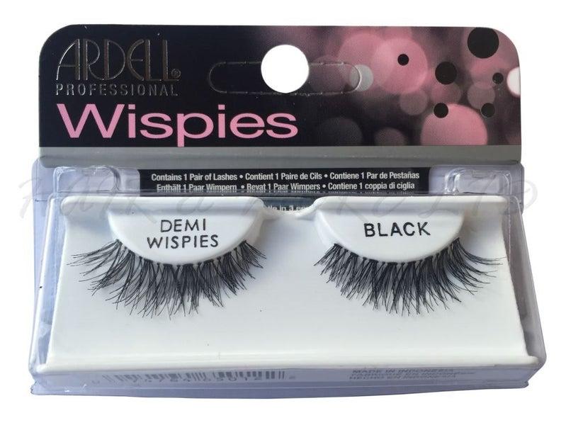 Ardell Professional Wispies Lashes - Demi-Wispies Black, Brand New!