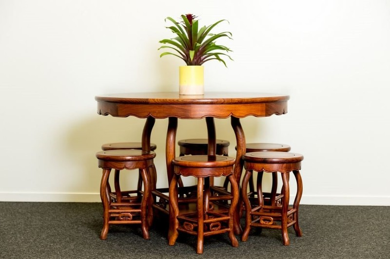 Rosewood Furniture Ming Style Lily Dining Set Trade Me