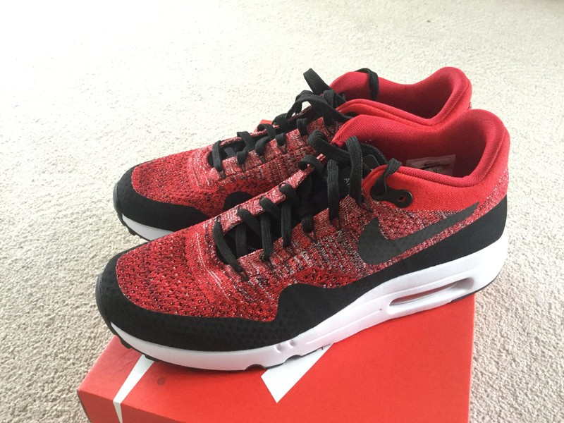 best service 7d4ef 80ae2 Nike Air Max 1 ultra 2.0 flyknit - US10