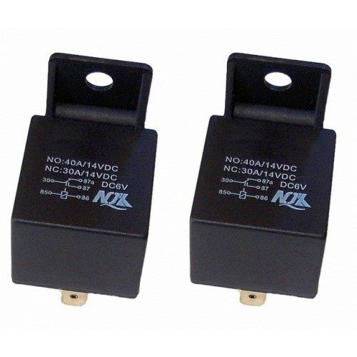 2x 6 volt Relays. Vintage and Clic cars 1yr wty | Trade Me A Volt Relay Wiring on