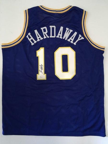 big sale 7cf26 5922d Tim Hardaway Signed Warriors Jersey