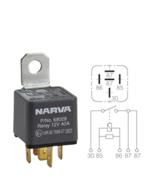 narva relay wiring wire center u2022 rh insidersa co narva 4 pin relay wiring diagram narva 4 pin relay wiring diagram