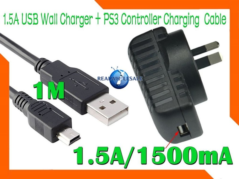 ps3 controller charging