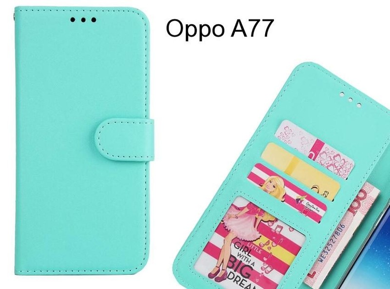 best loved 238d2 080c2 Oppo A77 case magnetic flip leather wallet case