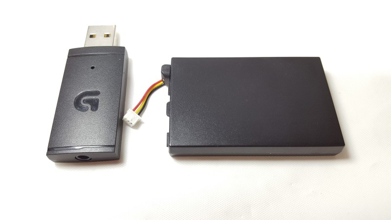 Logitech G933 USB Replacement Receiver and Li-Polymer Battery for G933