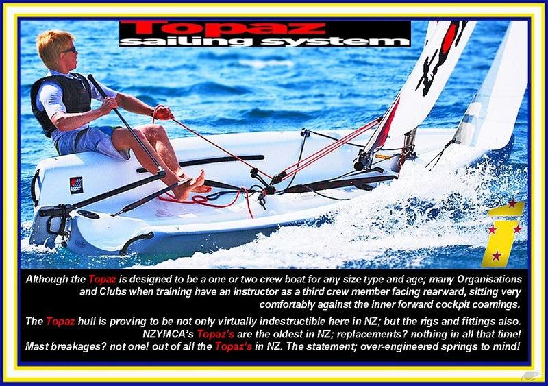 Topaz Sailing System | Trade Me