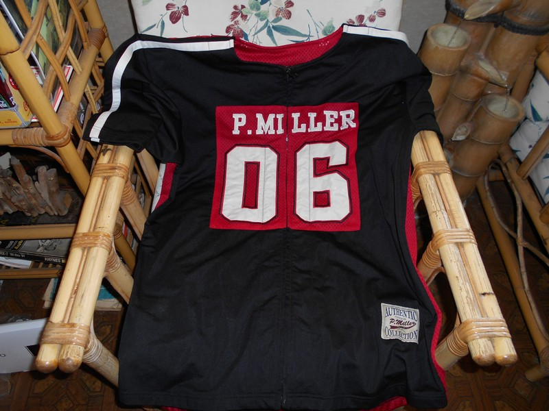7bb7e4b544f Percy Miller red/black jersey. | Trade Me