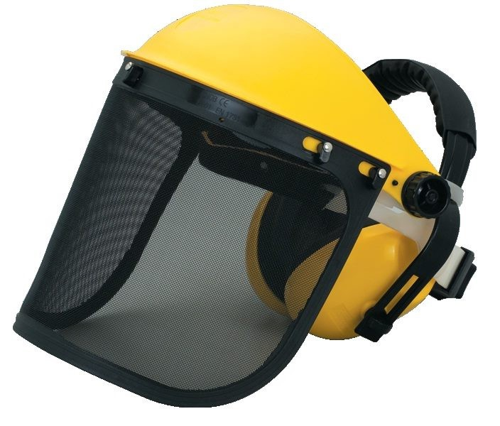 ToolShed Face Shield Wire Mesh with Earmuffs Grade 5
