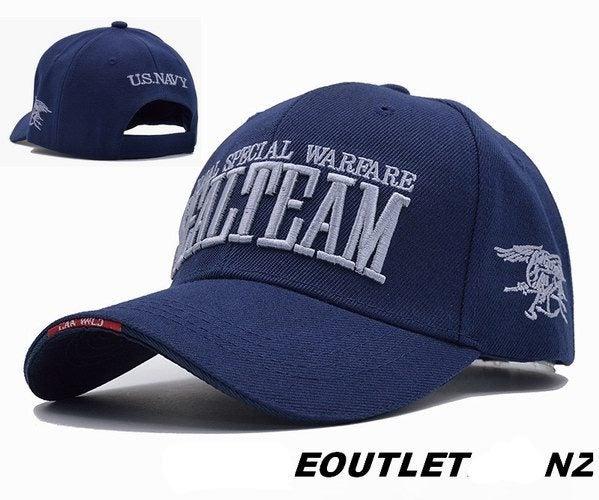 SEALTEAM Naval Special Warfare Tactical Baseball Cap Navy Blue ... 5f4260d3f739