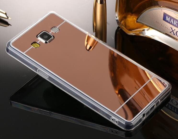 save off d6ee9 90e17 Samsung Galaxy J5 Soft Gel TPU Mirror Case