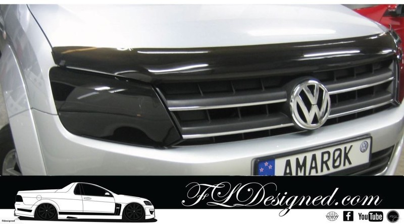 amarok headlights how to use