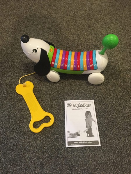 Leap Frog Alphapup Green | Trade Me