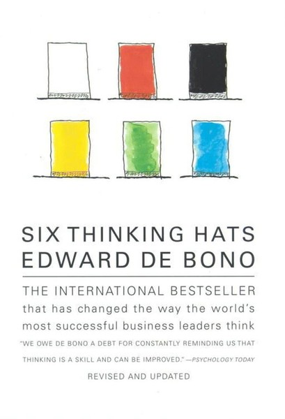 Six Thinking Hats An Essential Approach To Business Management Edward De Bono Trade Me