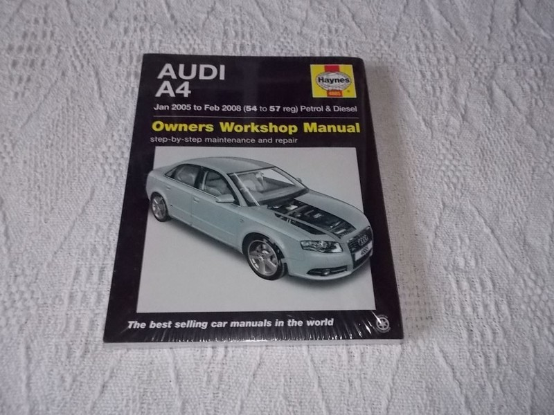 audi a4 owners workshop manual b7