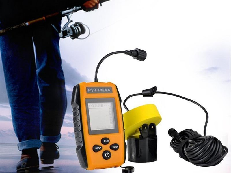 Kayak Fishing Portable Fish Finder Deep Sea Lake Bass Sonar