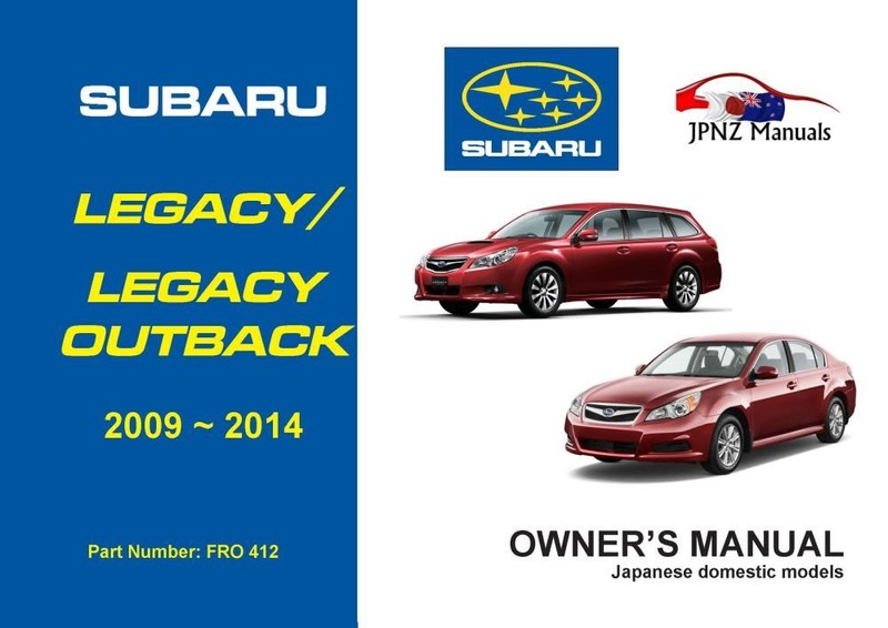 subaru legacy legacy outback owners manual 2009 2014 trade me rh trademe co nz subaru outback owners manual 2017 subaru outback owners manual 2014