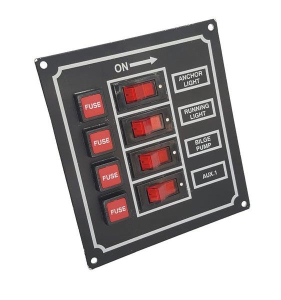 Incredible Switch Panel 4 Way Fused Trade Me Wiring Digital Resources Anistprontobusorg