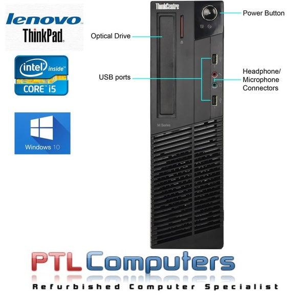 Lenovo Thinkcentre M93P SFF Core i5 8GB Brand New 240GB SSD Windows 10 Pro  WIFI