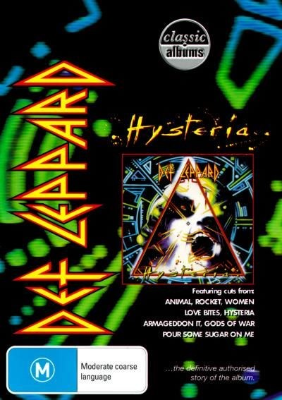 DEF LEPPARD - HYSTERIA [CLASSIC ALBUMS] (DVD)