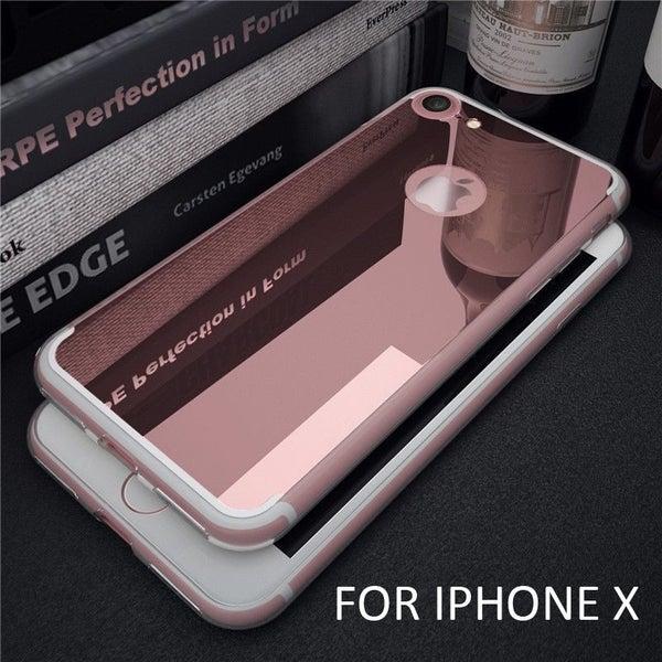 separation shoes 93638 b1f66 iPhone X CASE Soft Gel TPU Glaring Mirror Case