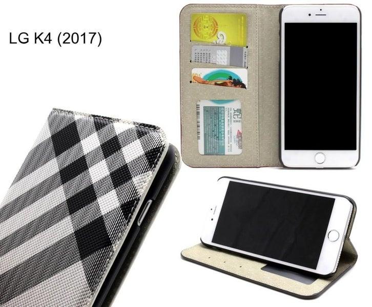 LG K4 (2017) case wallet Leather case