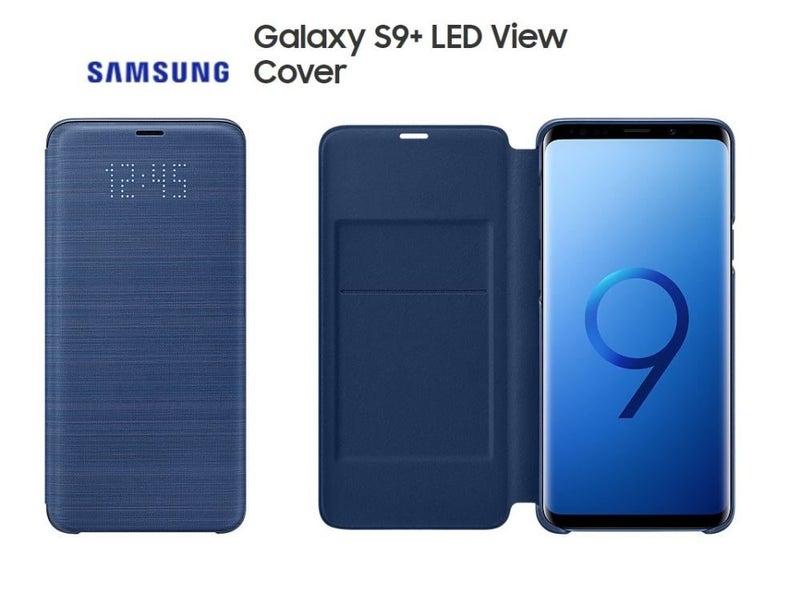 samsung s9 plus case led