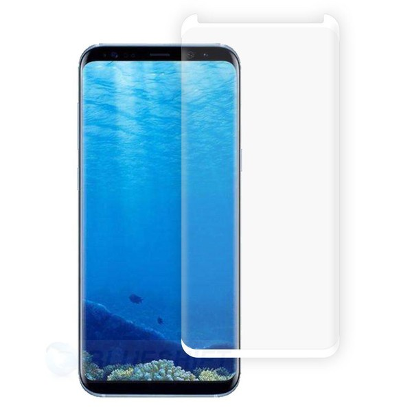competitive price 575f2 44aef Samsung S8 Plus Tempered Glass Curved Case-Friendly