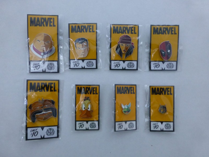 Marvel Mondo Enamel Pin Lot *Will Sell Individually *Deadpool, Punisher &  More