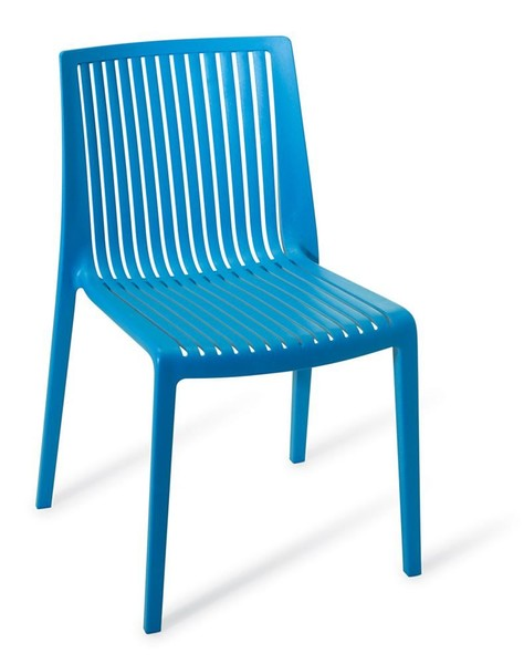 stackable outdoors chair blue trade me