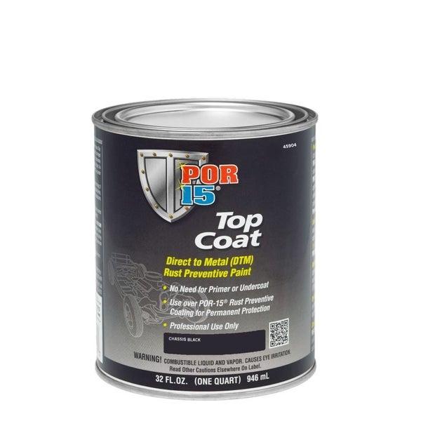 POR-15 CHASSIS BLACK Top Coat | Quart (946mL) | Trade Me