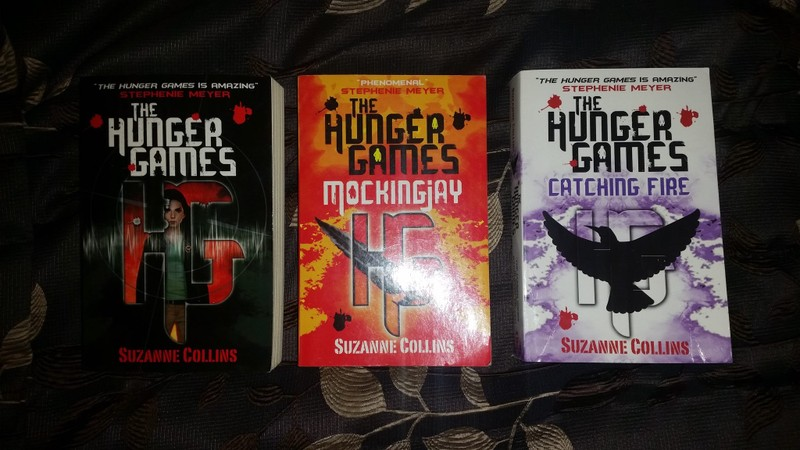 book trilogy similar to hunger games