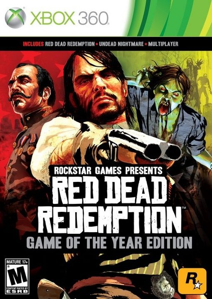 Red Dead Redemption Game of the Year Edition - Xbox 360 & One game
