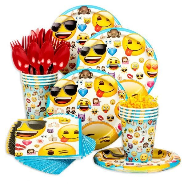 Emoji Birthday Party Pack