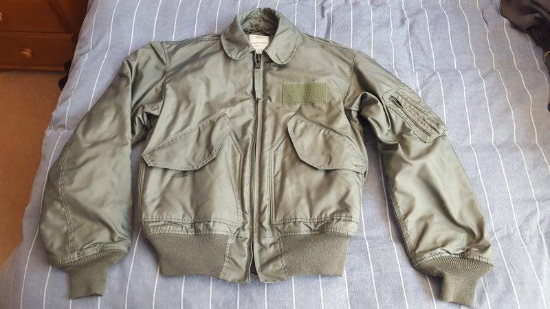 31ad0f5a66e Genuine USAF CWU-45P flight jacket