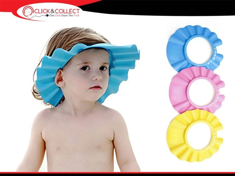 e1a3d8f42 Baby Shampoo Shower Protection Cap Waterproof Bathing Hat for Toddler,  Baby, Kid | Trade Me