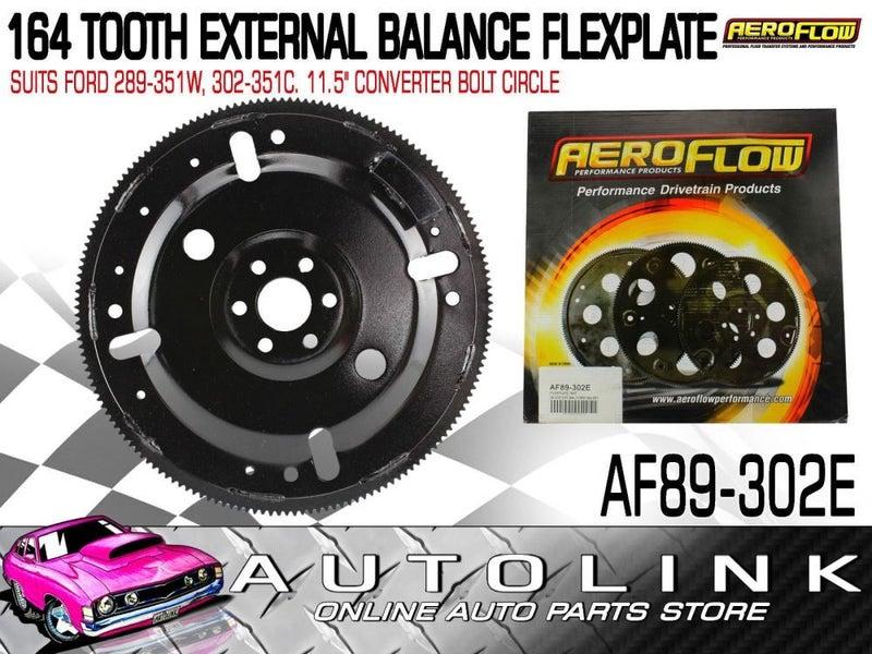 AEROFLOW 164 TOOTH EXTERNAL BALANCE FLEXPLATE SUIT FORD 289 302 351