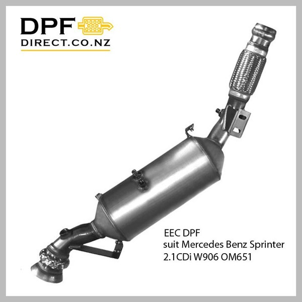 New DPF to suit Mercedes Sprinter 2 1 OM651 2 1 L Engine