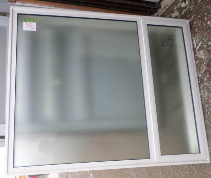 best loved 7437f 6f5b8 WHITE ALUMINIUM DOUBLE GLAZED WINDOW