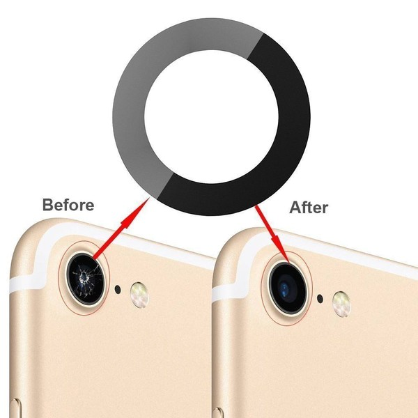 best cheap fe60a 0531e Back Camera Lens Glass Cover Adhesive Replace for iPhone 6 6s plus