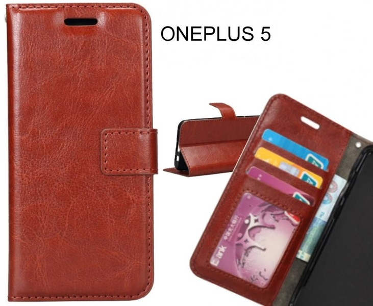 low priced 2b599 beccc ONEPLUS 5 case Wallet Leather Magnetic Smart Flip Folio Case