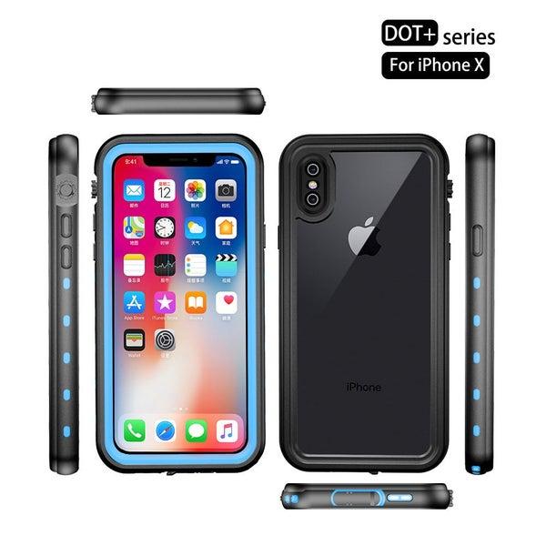 best service e42c9 71d23 RedPepper Genuine Waterproof Shockproof iPhone X Case