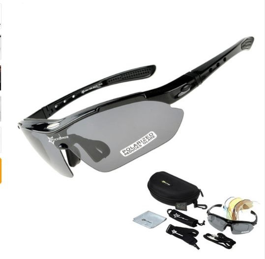 c84296dc39 RockBros Polarized Cycling Glasses Bicycle Glasses Bike Sunglasses ...