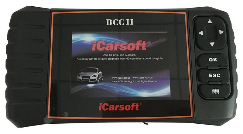 ICARSOFT BCC II JEEP CHRYSLER CHEVROLET GMC